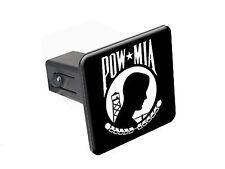 "POW MIA - 1 1/4 inch (1.25"") Trailer Hitch Cover Plug"