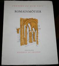 Romainmôtier, Editions du Griffon Neuchatel 1977. Architecture religieuse Suisse