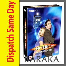 DOCTOR Dr WHO Complete Second Series Season 2 R4 DVD Box Set 6 discs BBC