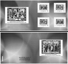 "DEBS2-1C Collector Booklet 4 Perso stamps ""Battle of Normandy / D-DAY"" 2012"