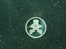 1 GRAM .999 SILVER ROUND COIN GUITARS WITH SKULL AND HAT FENDER PEAVEY LES PAUL