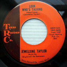 JEWELDINE TAYLOR Country blues 45 Look who's talking Your choice  e9432