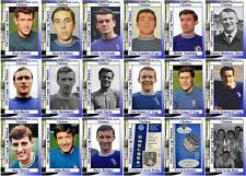 Chelsea FC 1965 Football League Cup final winners trading cards