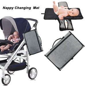 Portable Baby Infant Nappy Changing Mat Pad Diaper Cover Foldable Change Clutch