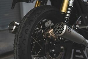 NUKE Little Boy Pop Exhaust for Royal Enfield Interceptor and Continental GT 650