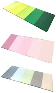 PLUFSIG, Gymnastikmatte, Turnmatte, Kinder, IKEA, grün, rosa, blau, 185x78x3,2cm