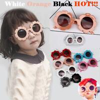 Baby Kids Unisex Children Frame Sunglasses UV400 Toddler Boys Outdoor Glasses #Y