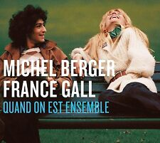 FRANCE & BERGER,MICHEL GALL - QUAND ON EST ENSEMBLE 2 CD NEUF