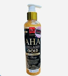 Aha Collagen Gold Enhanced Whitening Body Serum 350 ml.