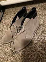 COACH Men's Kingston Suede Chukka Boots Authentic Sz 7.5