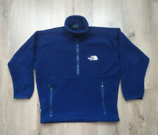 The North Face Fleece Halb zipp jacke Gr S Dunkel Blau