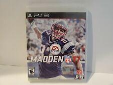 Madden NFL 17 (Sony PlayStation 3, 2016) 2017 PS3