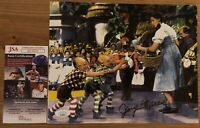 Jerry Maren Lollipop Kid JSA Authenticated The Wizard Of Oz Signed 8x10 Photo 2