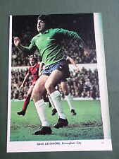 Dave Latchford - Birmingham City Player-1 Page Picture - Clipping/Cutting