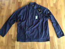Adidas Golf Windbreaker Jacke Shirt XXL, Navy Marine NEU !