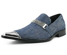 Men's Slippers, Slip On Loafers for Men, Exotic Patent Designer Shoes