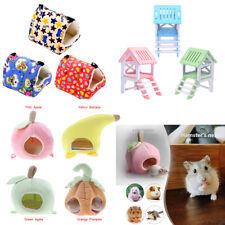 Pet Animal Plush Bird Hamster Mini Animal Hanging Sleeping Bed Cage Hut Tent Toy