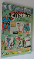 SUPERMAN #272 100 PAGE GIANT VF+  1974 WHITE PAGES
