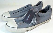(Sz.12) CONVERSE X JOHN VARVATOS CTAS Oxford Nickel Seersucker Sneaker 156708C