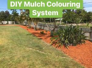 DIY Mulch Colouring, Garden mulch colouring