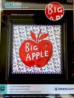 Counted Cross Stitch Kit New York City Big Apple Manhattan Zweigart 14 ct Aida