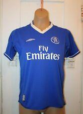 UMBRO Chelsea CFC Soccer Football Reversible Jersey Youth Medium Vintage RARE