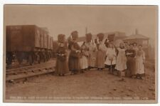 More details for children and wives of aberdare strikers taking home coal from thr tips