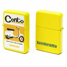 LAMBRETTA LIGHTER FORME LAMBRETTA -CENTO- YELLOW METAL
