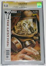 Y The Last Man 4 CGC SS 9.8. Signed Brian K Vaughan. 1st Daughters of the Amazon