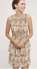 Anthropologie Plenty By Tracy Reese Sz XL Krystie Terraced Garden Dress Brocade