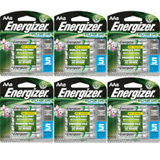 6 Pack Energizer Rechargeable Power Plus AA Batteries 2300mAh NiMH 8 pack Each