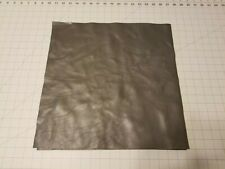 """Upholstery Leather - Dark Grey 16"""" x 16"""" Squares"""