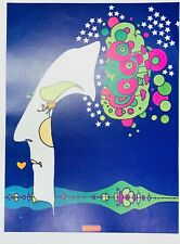 PETER MAX ORIGINAL VINTAGE LITHOGRAPH ON PAPER