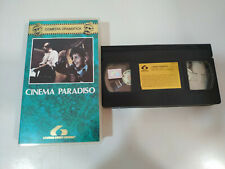 Cinema Paradiso Giuseppe Tornatore Philippe Noiret - Vhs Tape Spanish