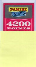 19-20 Panini Mosaic Panini Rewards 4200 Points Redemption Card