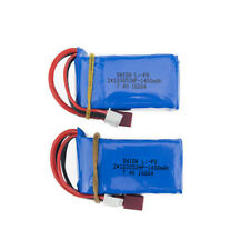 2pcs 7.4V 1400mah RC LiPo Battery For A959-b A969-b A979-b K929-B Car Toy parts