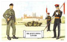 Postcard The Queen's Royal Lancers, Belvoir Castle, Lincolnshire by Geoff White