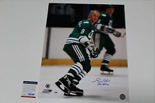 GORDIE HOWE SIGNED HARTFORD WHALERS 16X20 PHOTO PSA/DNA AUTHENTICATED COA