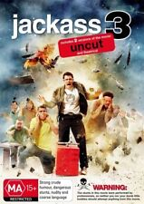 Jackass 3 (DVD, 2011) Uncut and Theatrical Version NEW & SEALED Region 4