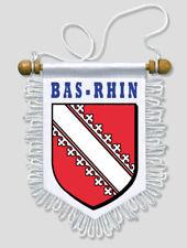 FANION VOITURE 13 X 15 CM BAS RHIN (67)