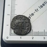 H04403 pièce de monnaie romaine antoninien a identifier qualité roman coin