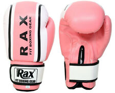 Pink Bag Mitts Ladies Boxing Gloves Grappling Punch MMA Womens Pink Gym Kick