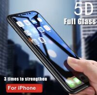 5D Full Tempered Glass Screen Guard Protector For Apple iPhone 6 Plus , 6s Plus