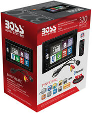 """Boss BVNV9384RC Double DIN Navigation Receiver w/ 6.2"""" Touchscreen with Camera !"""