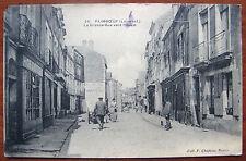 PAIMBŒUF (44 Loire-Atlantique) - La Grande Rue vers l'ouest - Animée
