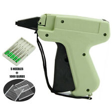Clothes Garment Brand Price Label Tagging Tag Gun 1000 Plastic Barbs + 5 Needles