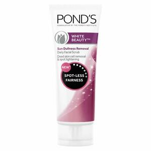 Pond's White Beauty Sun Dullness Removal Daily 100gm Facial Scrub