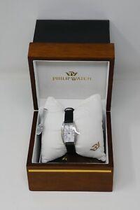 Philip Watch Ladies Woman Rectangular Swiss Made Watch