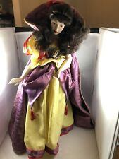 1988 Franklin Mint Heirloom Collection~Snow White Porcelain Doll