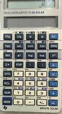 Texas Instrument Ti-36x Solar Scientific Calculator
